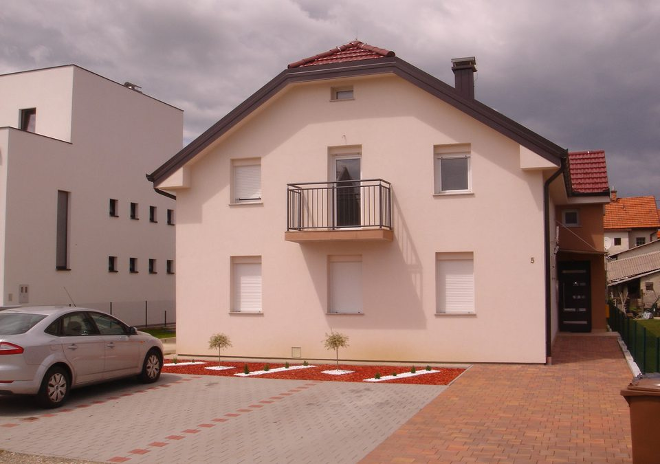 Construction of the residential building in Čakovec, Vrtna ulica 5