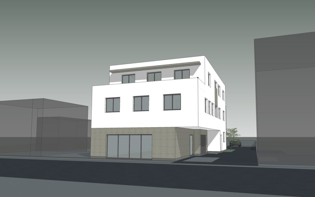 Izgradnja stambeno poslovne građevine: Jalkovečka 19, Varaždin